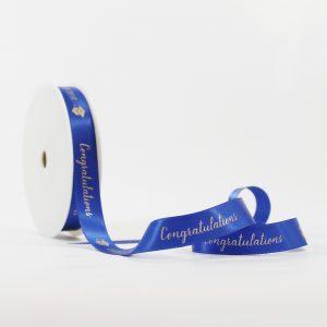 Graduation Ribbon Royal Blue