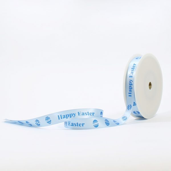 Blue Ribbon Printed with Message